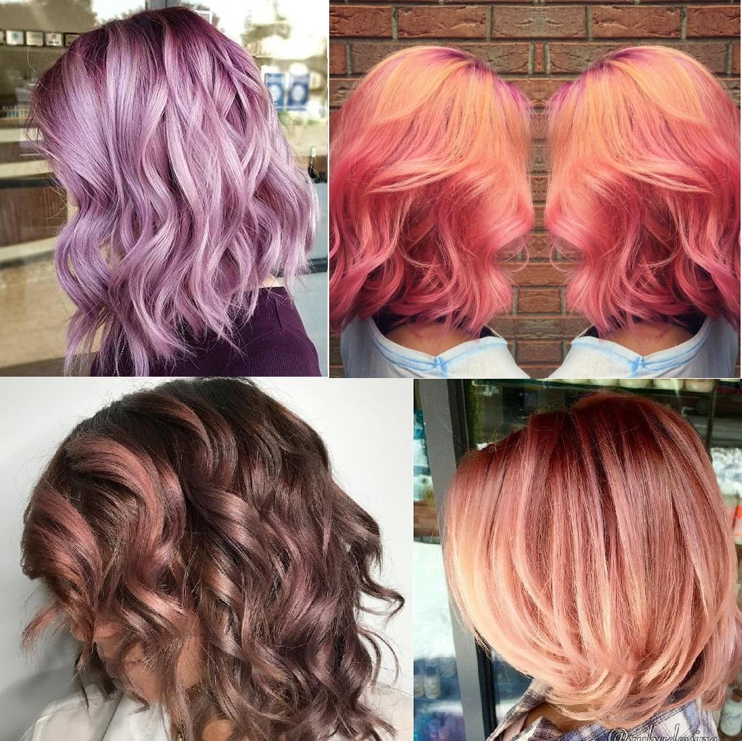 capelli corti colore pink trend 2017 - Lifestar.it