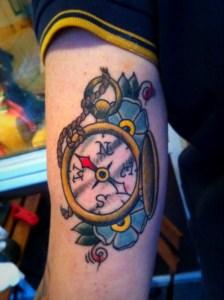 tatuaggi old school ancora