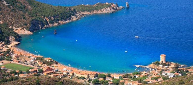 Isola del Giglio: spiagge, alloggi e servizi per ...