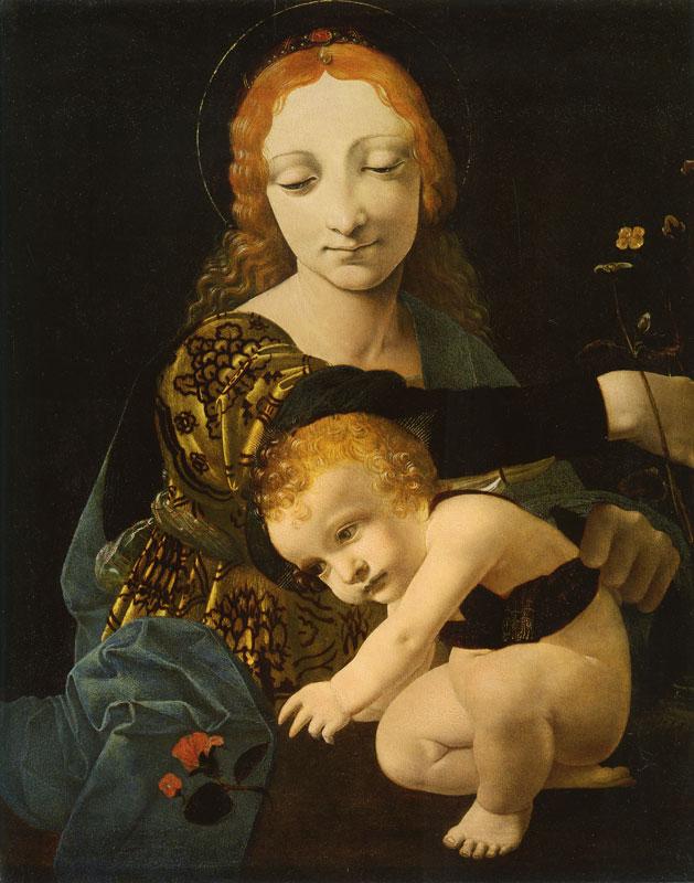 Madonna Litta mostra Milano