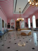 Tent Hall, it's the prettiest room because its pink