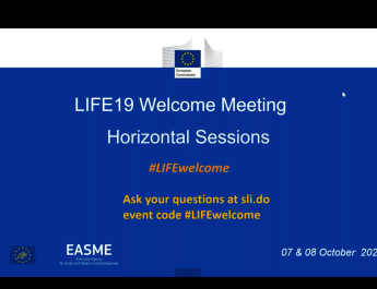 Attending the LIFE19 Welcome Meeting