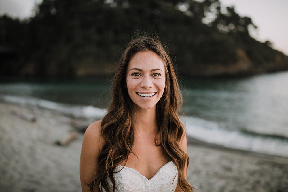 bride in California near San Francisco