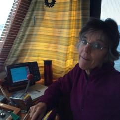 Paula and the chart plotter
