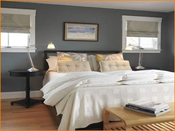 silver blue gray bedroom paint colors Interior design tips – How to create a relaxing bedroom – LifeStuffs