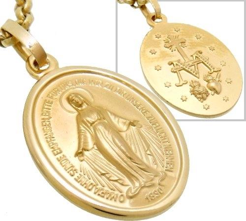 ANHNGER 585 Gold heilige Mutter Maria Milagrosa