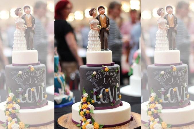 Hochzeitstorte Torte Liebespaar