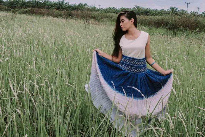 Batik Kleid Ethnolook