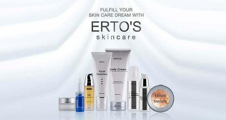 11 Produk Ertos Skincare Terbaik yang Patut Anda Coba