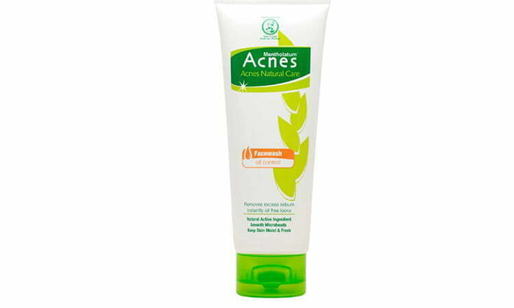 acnes facial wash