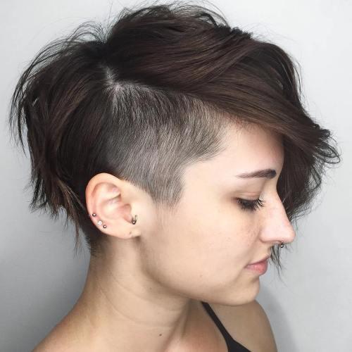 Model Rambut Uppercut Wanita