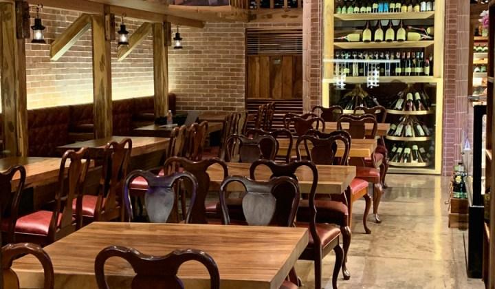 Wines galore in Brera Delicatessen Park Terraces Makati