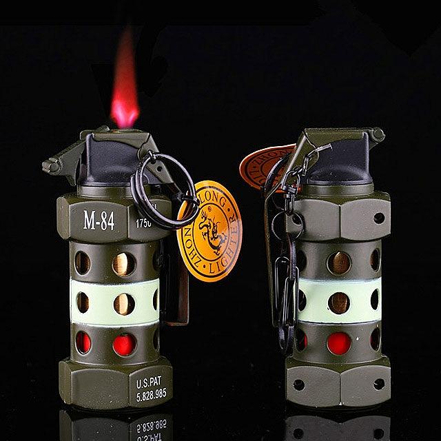cool kitchen stuff costco island m-84 hand grenade lighter