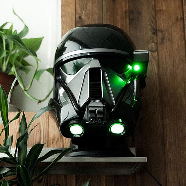 Star Wars 1:1 Death Trooper Head Bluetooth Speaker