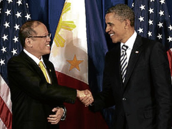 Pres. Noynoy Aquino and Pres. Barack Obama