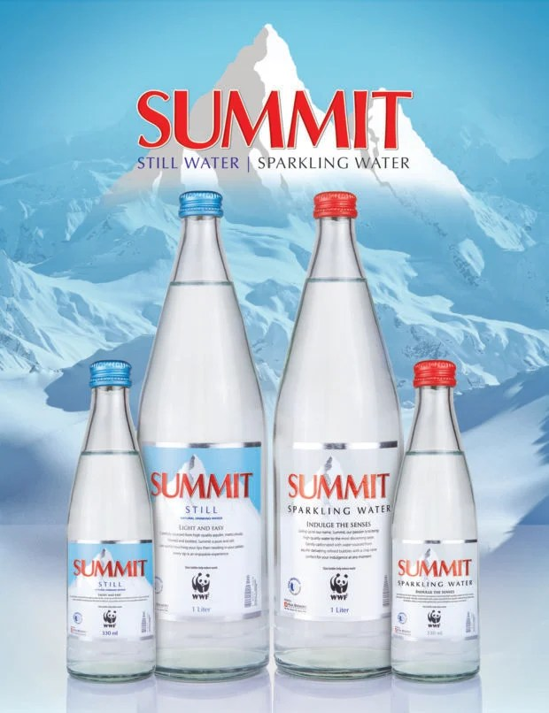 Summit Still and Sparkling continue sustainability