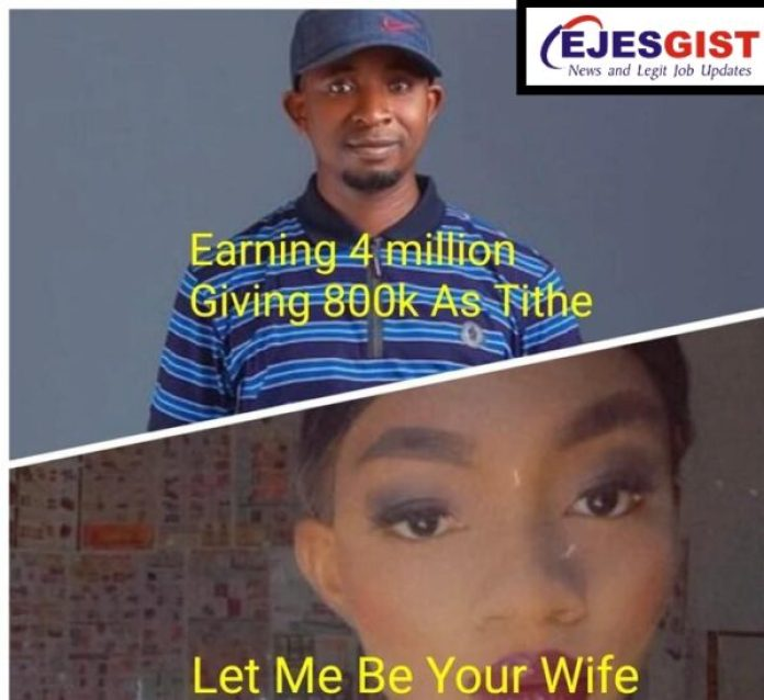 """""""Let Me Be Your Wife, I Can Cook""""- Lady Replies A Man After He Revealed How Much He Pays For Tithe1"""