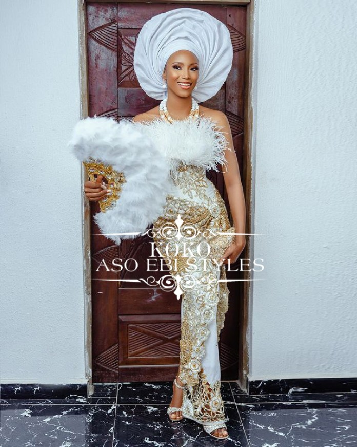 Go Bold And Make A Statement In These Aso Ebi Styles
