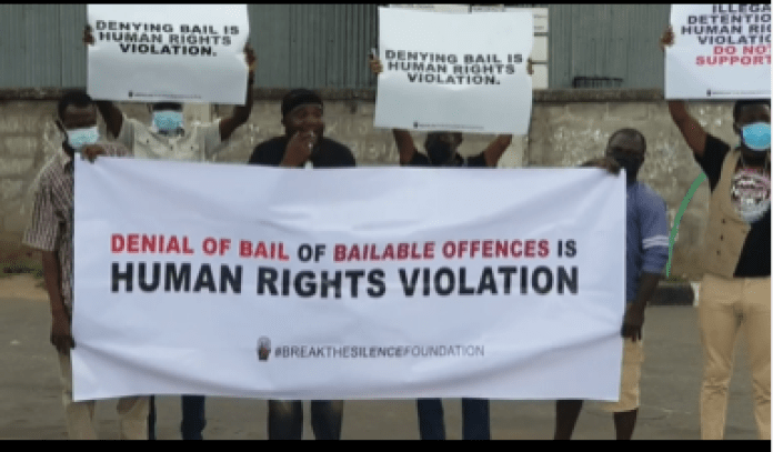 Yomi-Fabiyi-Stages-Protest-For-The-Release-Of-Baba-Ijesha-KOKO-TV-NG