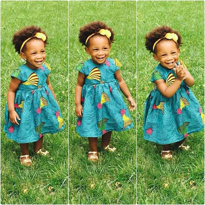 cute ankara styles for babies & toddlers (34)