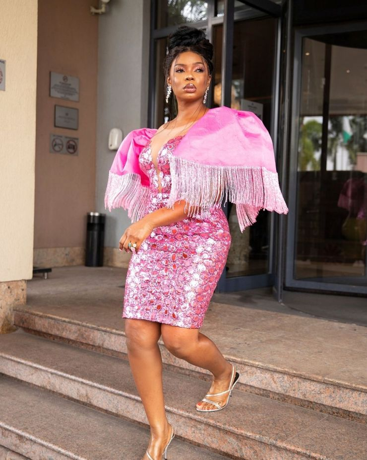Yemi Alade- Looking Exotic In Pink