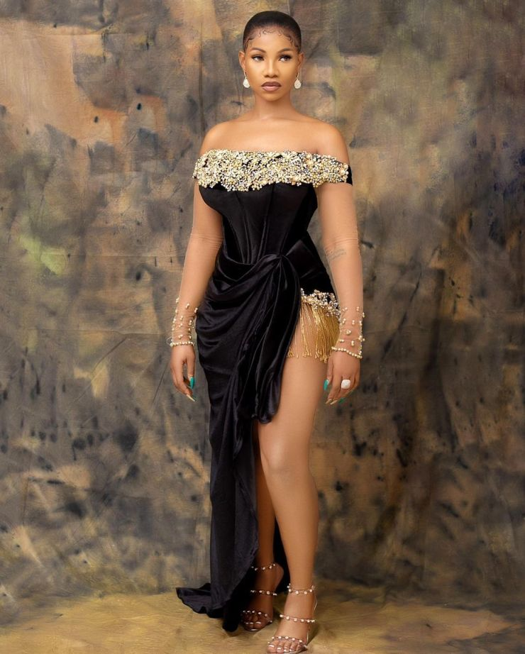 Symply Tacha- Looking Stunning In Gown