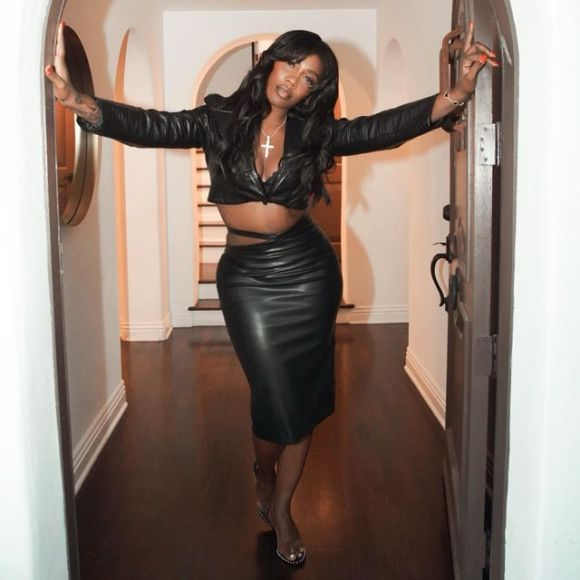 Tiwa Savage Is All Shades Of Sexy In Black