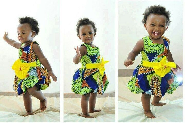 cute ankara styles for babies & toddlers (16)