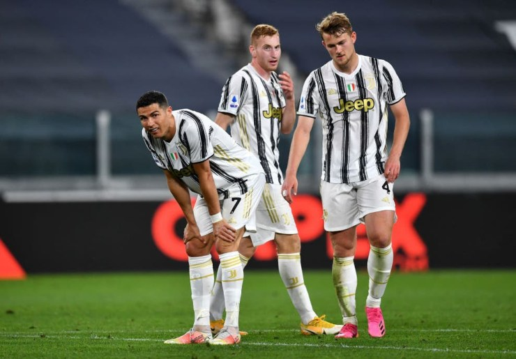 Juventus are threatened with expulsion from Serie A if they don