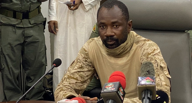 Mali?s constitutional court names coup leader, Colonel Assimi Goita as country?s transitional President