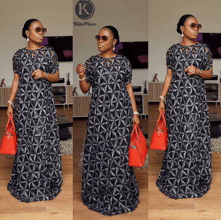 latest lace gown styles for ladies 2020