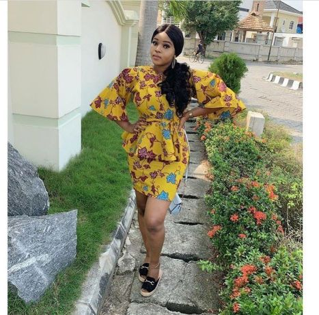 pictures of ankara style in vogue