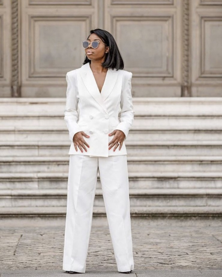 white wide leg trousers stylerave