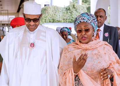Buhari appoints two new aides for wife, Aisha
