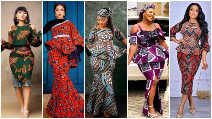 Exclusively Stunning Ankara Skirt and Blouse Styles for Africans