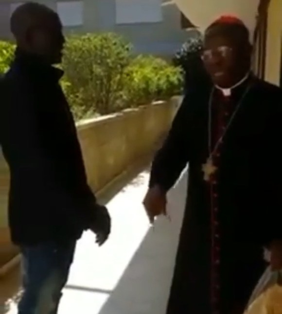 IPOB members approach Cardinal Arinze in Rome and ask him to talk to the Pope to endorse actualization of Biafra. He gave them an answer they probably didn