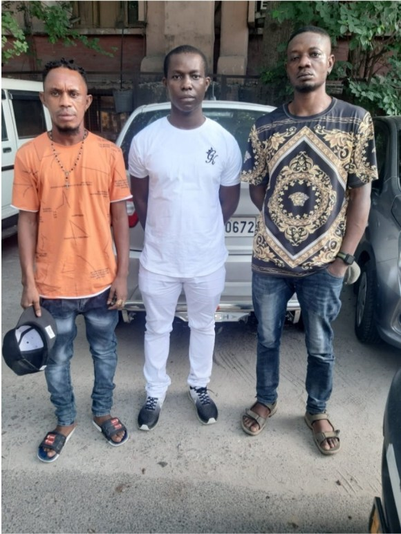 Three Nigerian nationals arrested for staying without valid documents in India