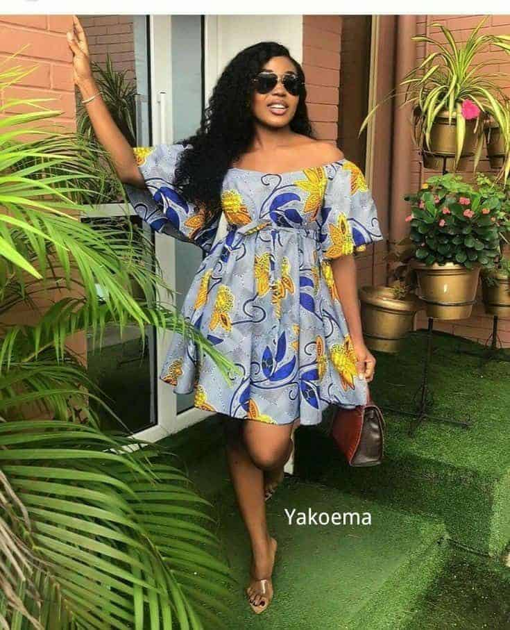 Simple & Cute Ankara Fashion Outfits Every Lady's Should Have