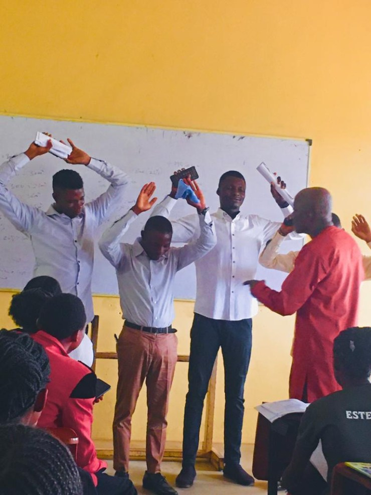 Poly lecturer reportedly orders final year students to raise their hands and close their eyes after they came late to his class