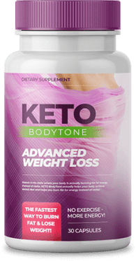 bottle of keto bodytone
