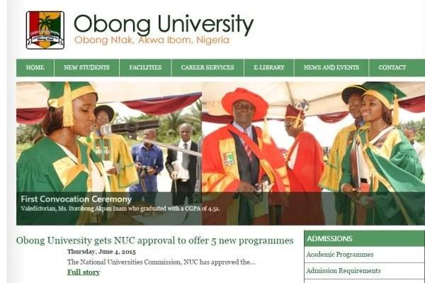 Obong University