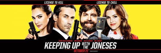 Keeping Up with the Joneses - Friday, October 21