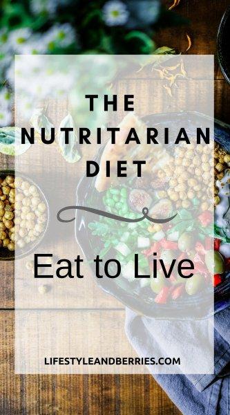 Nutritarian diet