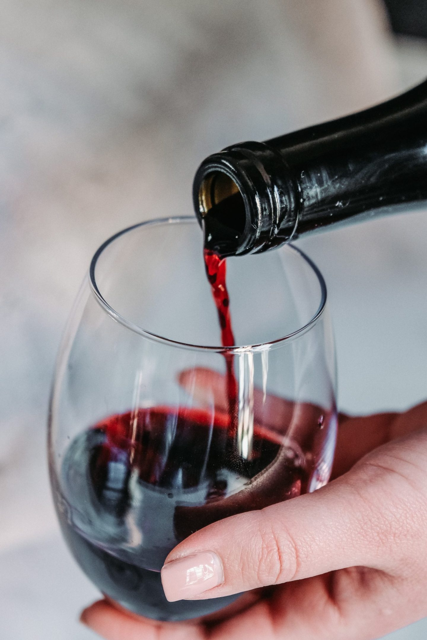 calories in wine