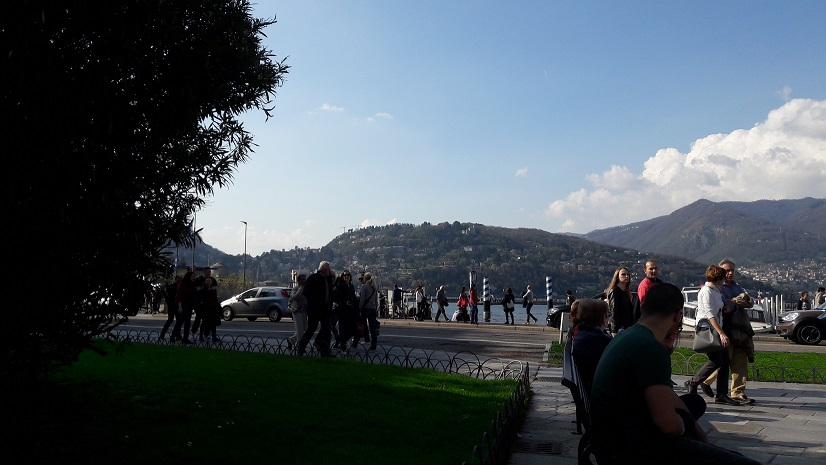 A beautiful day around Lake Como