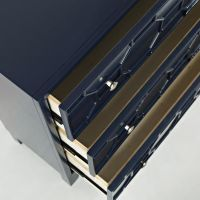 MATRIX NAVY ACCENT CABINET by Jofran