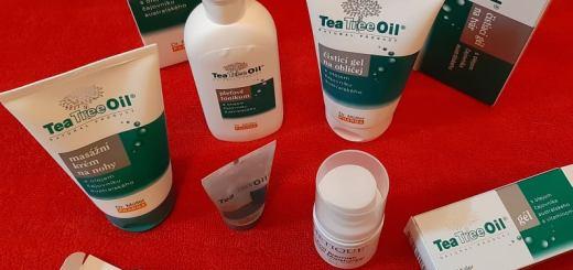 Tea Tree - produse cu ulei din arbore de ceai
