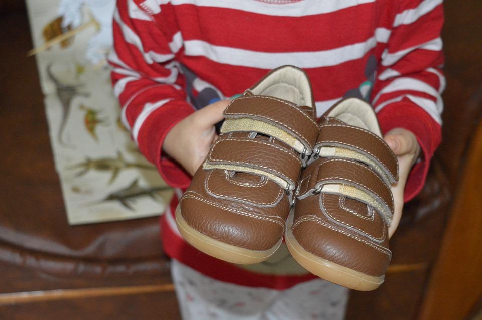 Încălțăminte din piele lucrată manual Ariana Baby Shoes