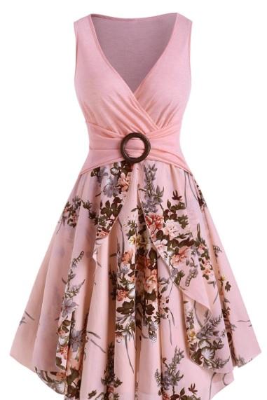 Rochii cu imprimeu floral Dresslily