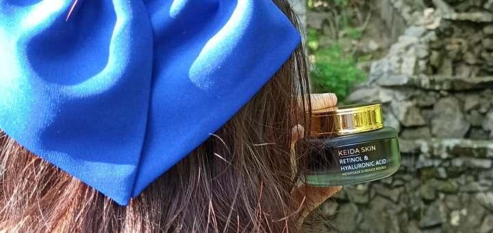 Keida Skin - cremă cu retinol și acid hialuronic